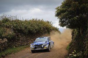 Łukasz Habaj, Daniel Dymurski, Skoda Fabia R5, Rallye Azores, FIA ERC