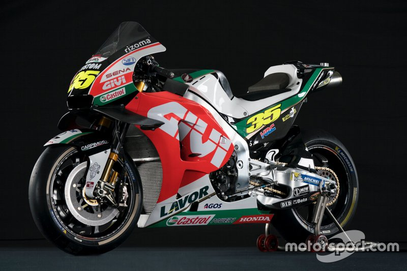 Team LCR Honda bike