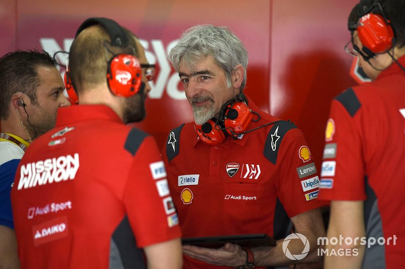 Gigi Dall'Igna, General Manager, Ducati Team