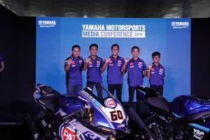 Wahyu Rusmayadi, Manajer Tim, M Faerozi, Anggi Setiawan, Galang Hendra, Wahyu Nugroho, Aldi Satya Mahendra, Yamaha Racing Indonesia