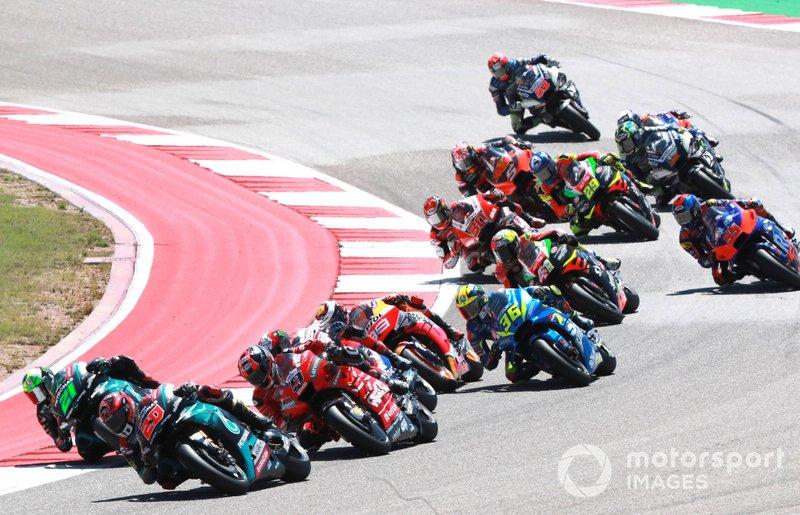 Mais tarde, as etapas da Tailândia, Estados Unidos, Argentina, Espanha e França também foram suspensas, com adiamento. No momento, o GP da Itália é o primeiro da temporada.