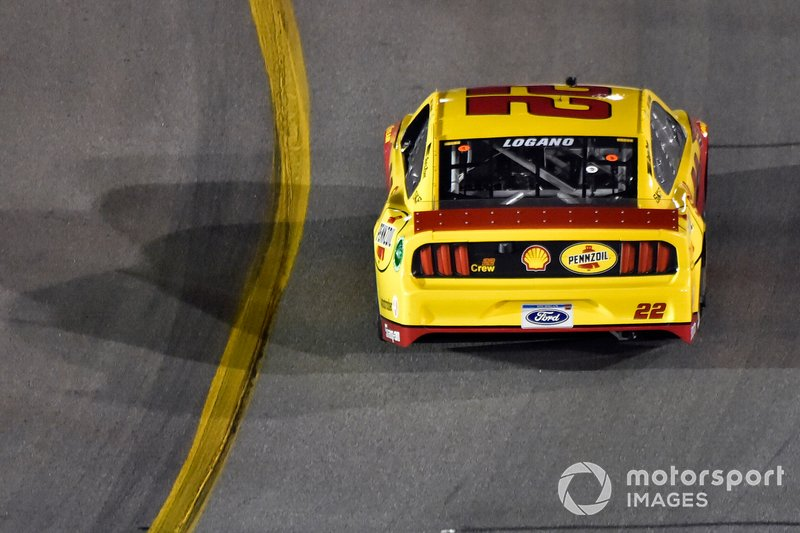 2. Joey Logano, Team Penske, Ford Mustang