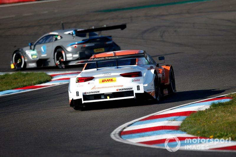 ... die Ingolstädter haben Mühe mit dem Abbau der Reifen, was sich bisher als Stärke von Aston Martin herausstellt. Im Qualifying-Trimm sieht es für Audi allerdings gut aus, wie ...