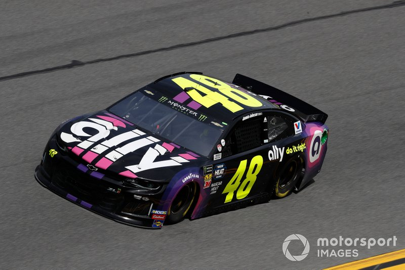 17. Jimmie Johnson, Hendrick Motorsports, Chevrolet Camaro Ally