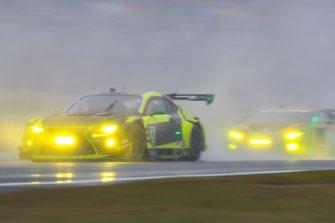 #12 AIM Vasser Sullivan Lexus RC F GT3, GTD: Frank Montecalvo, Townsend Bell, Aaron Telitz, Jeff Segal