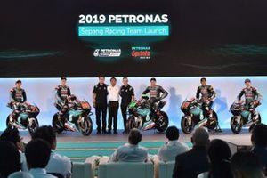 Petronas Yamaha presentación