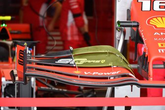 Ferrari SF90 front wing detail