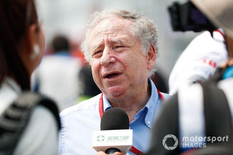 Jean Todt, Presidente FIA, parla con la stampa