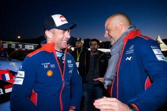 Sébastien Loeb, Hyundai Motorsport, Andrea Adamo, Team principal Hyundai Motorsport