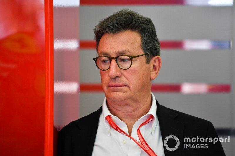 Louis Camilleri, CEO, Ferrari