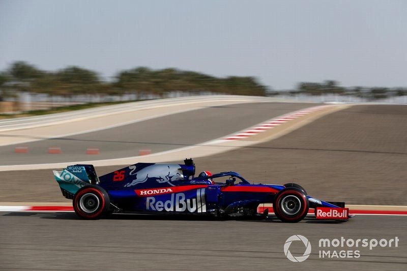 15. Данііл Квят, Toro Rosso — 1