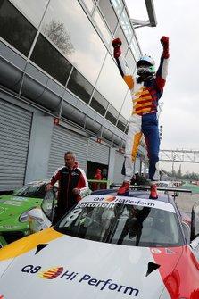 Il vincitore della gara Diego Bertonelli, Dinamic Motorsport