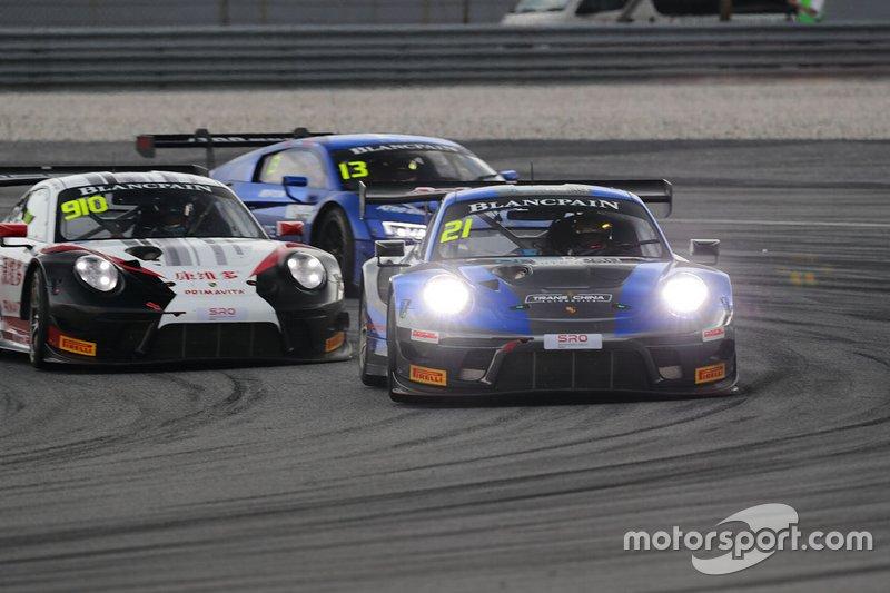 #21 OpenRoad Racing Porsche 911 GT3 R: Michael Soeryadjaya