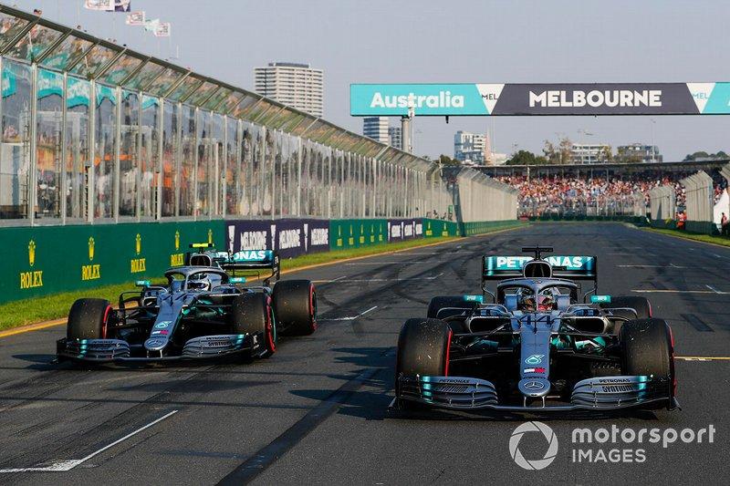 Mercedes 2019: Lewis Hamilton, Valtteri Bottas