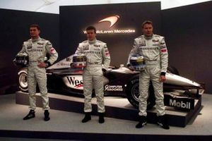David Coulthard, Olivier Panis ve Mika Hakkinen