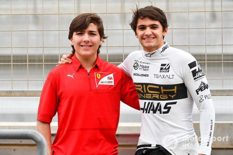 Pietro Fittipaldi, Haas F1 Team, Enzo Fittipaldi