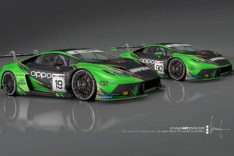 Lamborghini Huracan GT3 Evo, Raton Racing by Target
