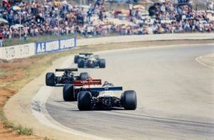 Renn-Action beim GP Südafrika 1978 in Kyalami
