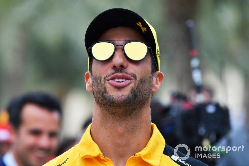 6 місце — Даніель Ріккардо, Renault