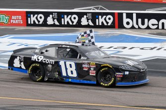 Race Winner Kyle Busch, Joe Gibbs Racing, Toyota Supra Extreme Concepts/iK9