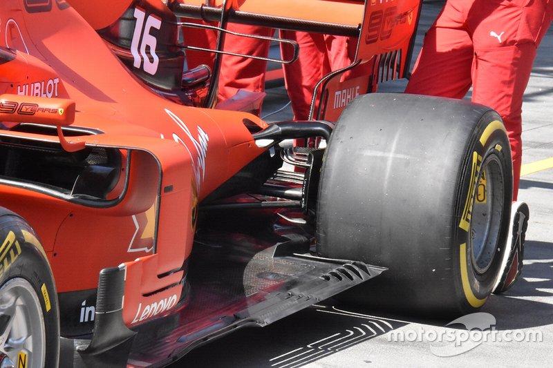 Ferrari SF90: Unterboden