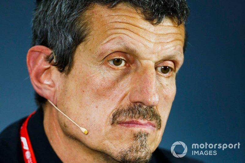 Guenther Steiner, Director Haas F1, en la conferencia de directores
