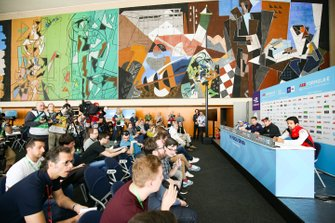 Press conference with Lucas Di Grassi, Audi Sport ABT Schaeffler, Sébastien Buemi, Nissan e.Dams, Robin Frijns, Envision Virgin Racing, Felipe Massa, Venturi Formula E