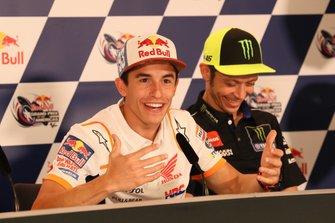 Marc Marquez, Repsol Honda Team, Valentino Rossi, Yamaha Factory Racing, Press Conference