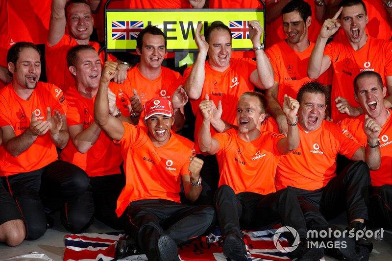 GP de Brasil 2008 (Campeón Lewis Hamilton)