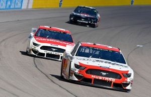 David Ragan, Front Row Motorsports, Ford Mustang Citgard Heavy Duty Engine Oil, Paul Menard, Wood Brothers Racing, Ford Mustang Motorcraft / Quick Lane Tire & Auto Center