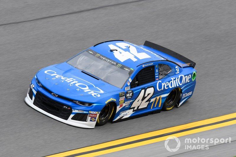 """1. Kyle Larson (Ganassi-Chevrolet) - für """"Round of 8"""" qualifiziert"""