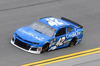 Kyle Larson, Chip Ganassi Racing, Chevrolet Camaro Credit One Bank