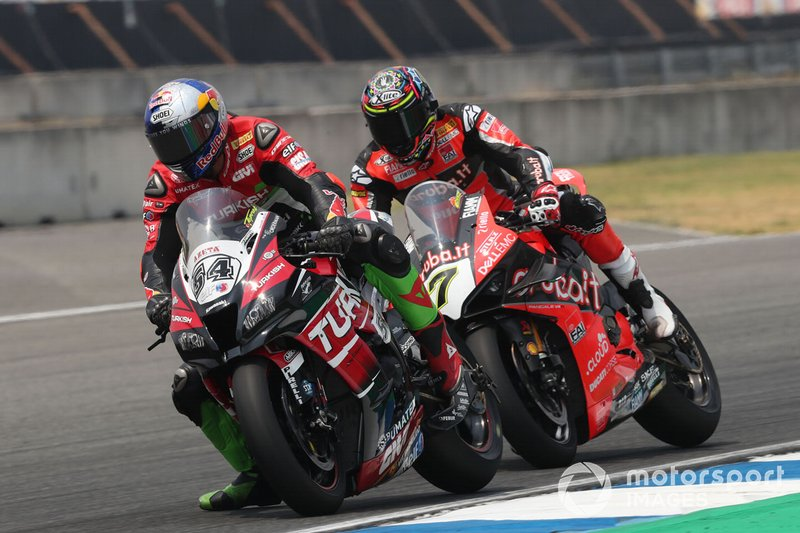 Toprak Razgatlioglu, Turkish Puccetti Racing, Chaz Davies, Aruba.it Racing-Ducati Team