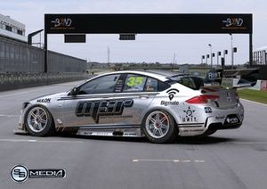 Автомобиль Holden ZB Commodore команды Matt Stone Racing