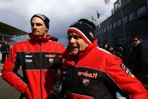 Serafino, Chaz Davies, Aruba.it Racing-Ducati Team