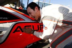 Prototype pole winner #7 Acura Team Penske Acura DPi, DPi: Helio Castroneves