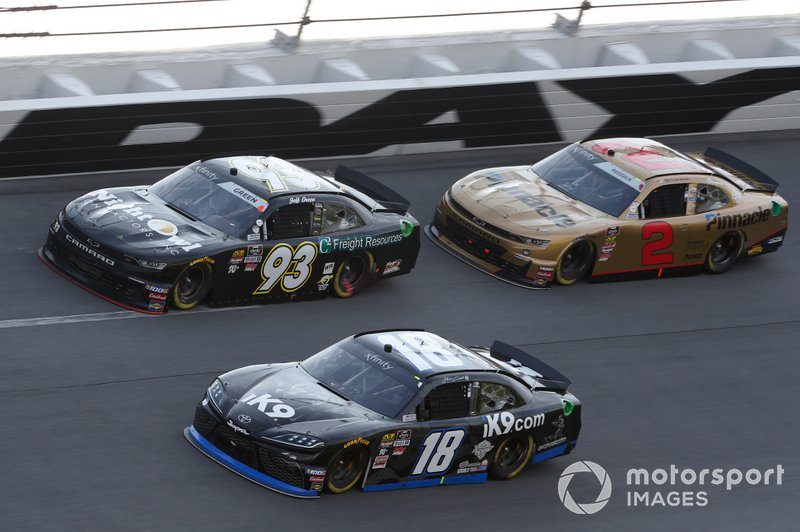Jeffrey Earnhardt, Joe Gibbs Racing, Toyota Supra iK9 Jeff Green, RSS Racing, Chevrolet Camaro RSS Racing