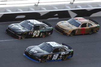 Jeffrey Earnhardt, Joe Gibbs Racing, Toyota Supra iK9 Jeff Green, RSS Racing, Chevrolet Camaro RSS Racing