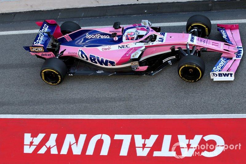 Sergio Pérez, SportPesa Racing Point F1 Team RP19