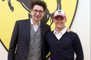 Mattia Binotto, Mick Schumacher, Ferrari