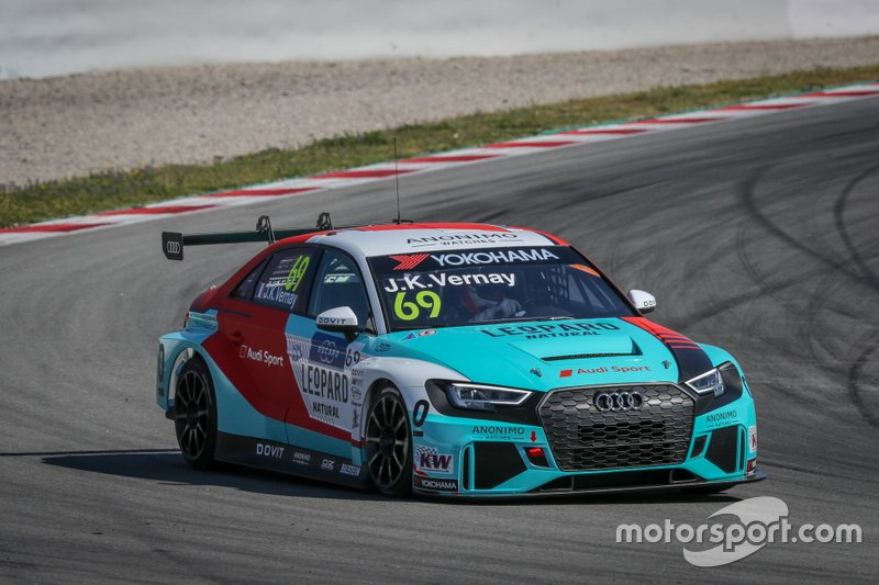 №69. Жан-Карл Вернэ (Франция, 32 года), Audi RS 3 LMS, команда Leopard Racing Team Audi Sport