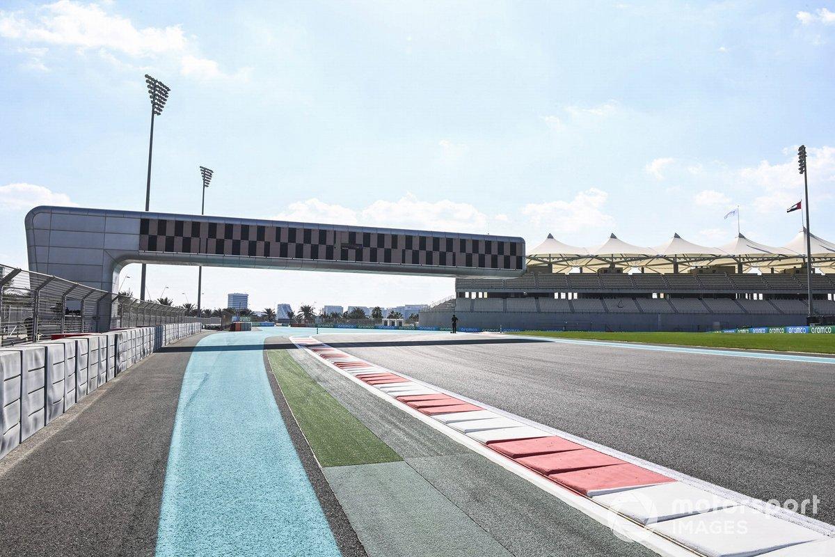 El circuito Yas Marina de Abu Dhabi