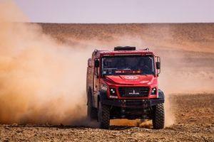 #505 Maz-Sportauto: Aliaksei Vishneuski, Maksim Novikau, Siarhei Sachuk