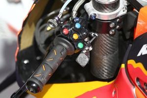 Handlebar switches of Red Bull KTM Factory Racing Bike