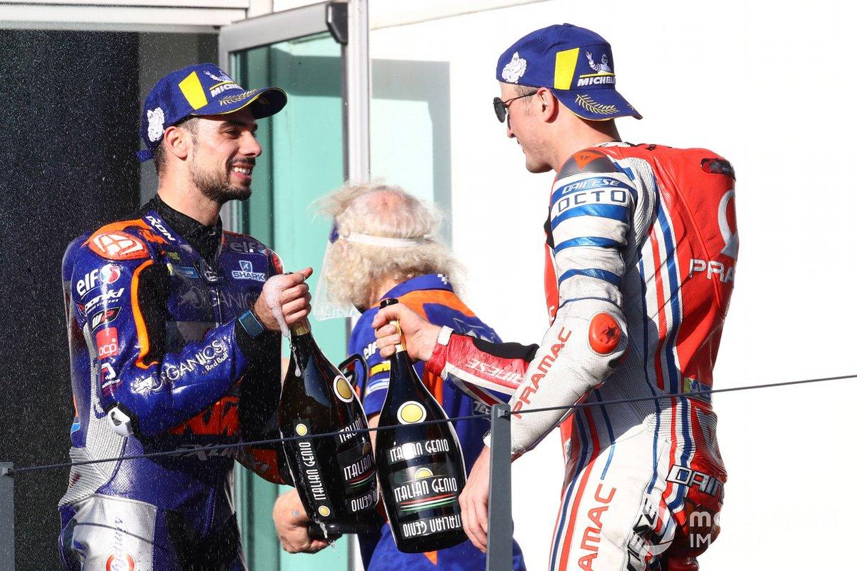 Miguel Oliveira, Red Bull KTM Tech 3, Jack Miller, Pramac Racing