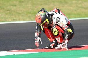 Sturz: Tatsuki Suzuki, SIC58 Squadra Corse