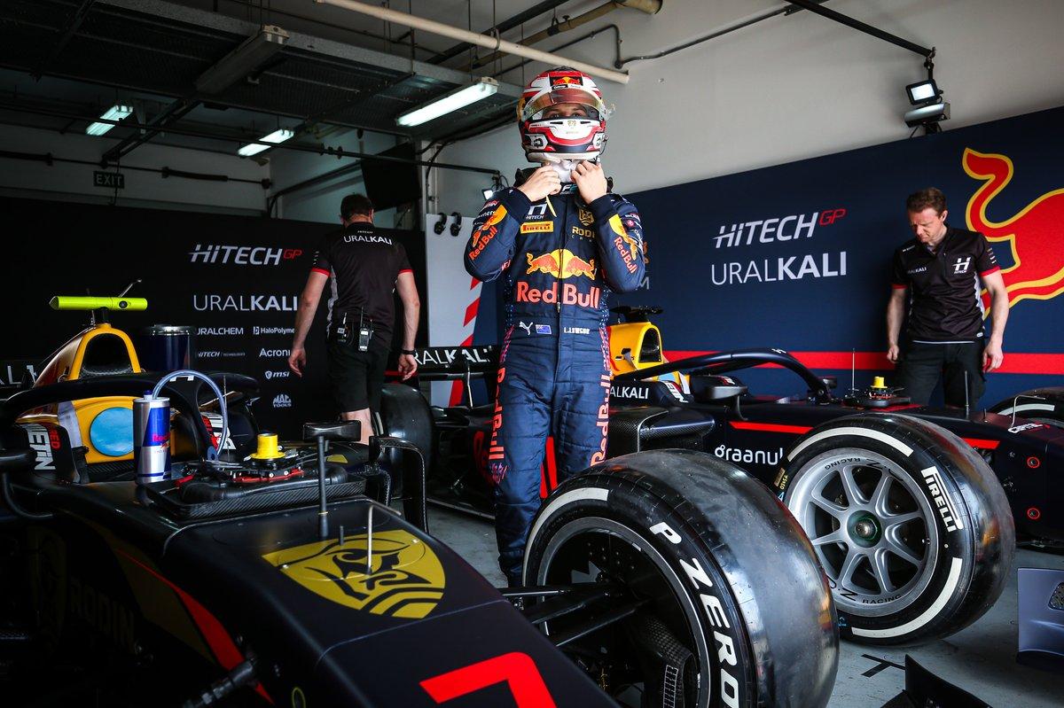 Liam Lawson, Hitech GP