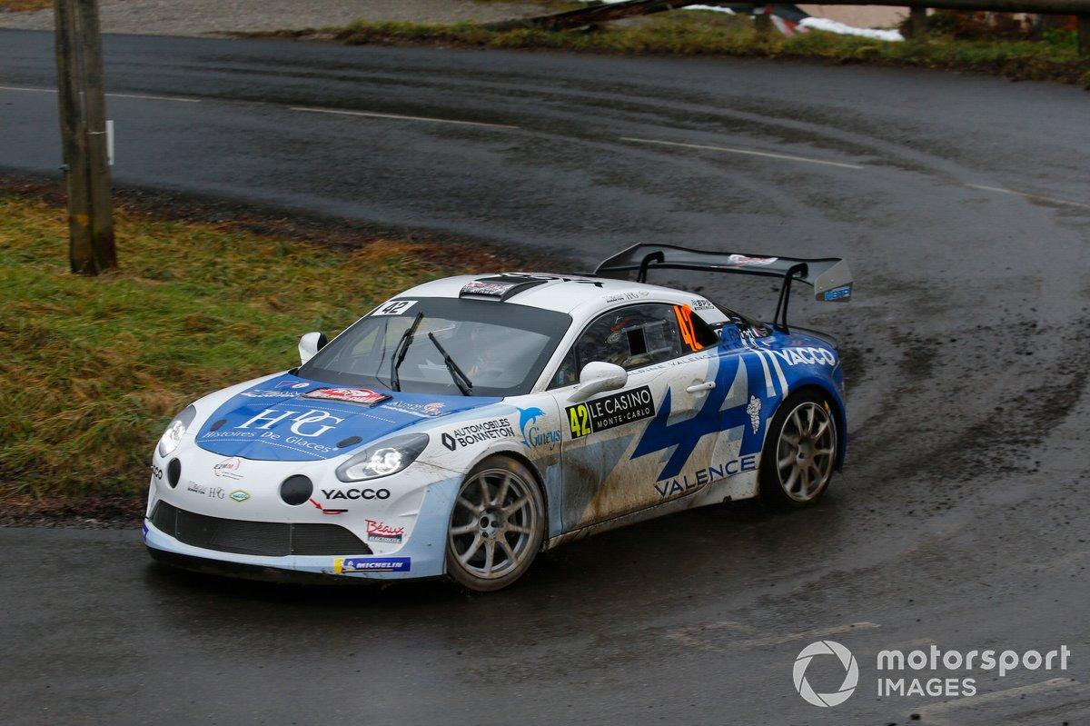 Cédric Robert, Matthieu Duval, Alpine A110 Rally RGT