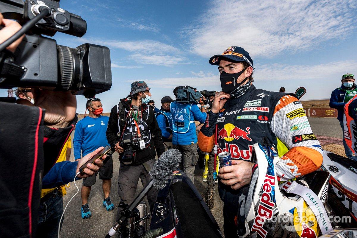 #52 Red Bull KTM Factory Team: Matthias Walkner