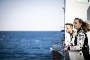 Jenson Button, JBXE Extreme-E Team and Mikaela Ahlin-Kottulinsky, JBXE Extreme-E Team